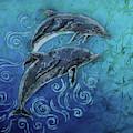 Porpoise Pair by Sue Duda