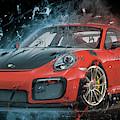 Porsche 911 Gt2 by Max Huber