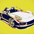 Porsche Boxster Pop Art by Dan Sproul