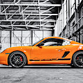 Porsche Cayman S  by Tim Gainey