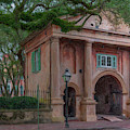 Porters Lodge - College Of Charleston  by Dale Powell