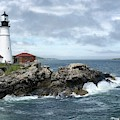 Portland Head Light House by Dick Goodman