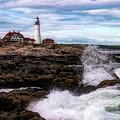 Portland Head Lighthouse Maine by Jeff Folger