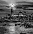 Portland Lighthouse 7363 by Donald Brown