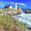 Portland Maine Head Light by Dan Sproul