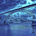 Porto 44 Blue Bridge by Leigh Kemp