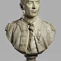 Portrait Bust Of John Paul Jones by Jean-Antoine Houdon