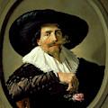 Portrait Of A Man      by Frans Hals