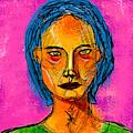 Portrait Of A Woman 1139 by Maciej Mackiewicz