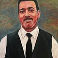 Portrait Of Artist Carl Butler by Ron Richard Baviello