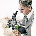 Portrait Of George Hardy by David Lloyd Glover