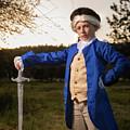 Portrait Of George Washington by Jonathan Hansen