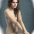 Portrait Of Girl Au Naturel - Dwp2655644 by Dean Wittle