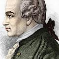 Portrait Of Immanuel Or Emmanuel Kant, German Philosopher by German School