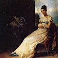 Portrait Of Laura Bro 1820 by Gericault Theodore