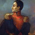 Portrait Of Simon Bolivar By San Martin De Balcarce by San Martin de Balcarce