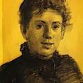 Portrait Of Tatyana Tolstaya Leo Tolstoy Daughter by Ge Nikolai