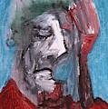 Portrait On Blue by Edgeworth DotBlog