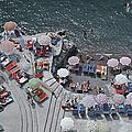 Positano Beach by Slim Aarons