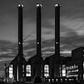 Power Station Providence Ri I Bw by David Gordon