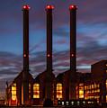 Power Station Providence Ri I Color by David Gordon