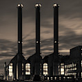 Power Station Providence Ri I Toned by David Gordon
