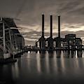 Power Station Providence Ri II Toned by David Gordon