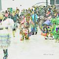 Powwow Abstraction #1 by Kae Cheatham