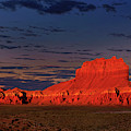 Predawn Wild Horse Butte Goblin Valley Utah by Dave Welling