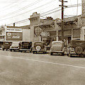 Presidio Market And Al's Place On Lighthouse Avenue 1940 by California Views Archives Mr Pat Hathaway Archives