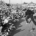 Presley Performs by Hulton Archive