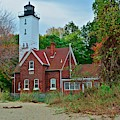Presque Isle Lighthouse by Frozen in Time Fine Art Photography