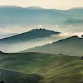 Pretty Morning In Toscany by Jaroslaw Blaminsky