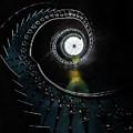 Pretty Ornamented Spiral Staircase by Jaroslaw Blaminsky