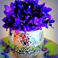 Pretty Purple Petals O T T by VIVA Anderson
