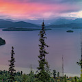 Priest Lake Sunset View by Leland D Howard