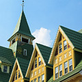 Prince Of Wales Hotel Gables And Steeple by Ola Allen
