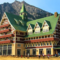 Prince Of Wales Hotel In Alberta Canada by Ola Allen