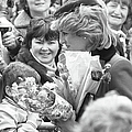 Princess Diana Walkabout by Reg Lancaster