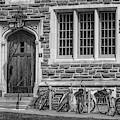 Princeton University Patton Hall  Bw by Susan Candelario