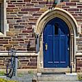 Princeton University Patton Wright Hall Bw by Susan Candelario