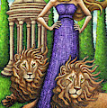 Proud Lions by Amy E Fraser