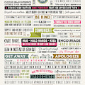 Proven Principles For A Happier Marriage Typography Poster by Adam Asar