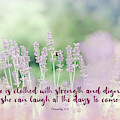 Proverbs 31 25 #bibleverse by Andrea Anderegg
