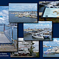 Provincetown Marina Cape Cod Massachusetts Collage by Thomas Woolworth