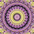 Psychedelic Kaleidoscope Abstract Pattern 10 by Artist Dot