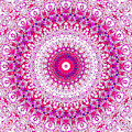 Psychedelic Kaleidoscope Abstract Pattern 13 by Artist Dot