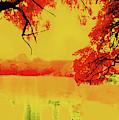 Psychedelic Lake by Stephen Edwards