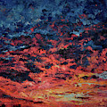 Purple Sun by Tetiana Korol