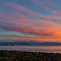 Pyramid Lake Sunrise by Rick Mosher
